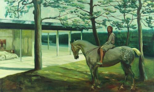 M On Horseback
